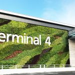 TERMINAL 4 OUTDOOR GREEN WALL