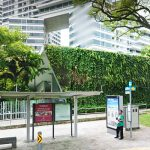 INTERLACE GREEN WALL