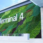 TERMINAL 4 OUTDOOR 2 GREEN WALL